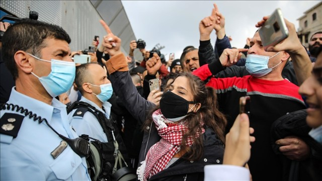 Arabs protest against crimes in Israel