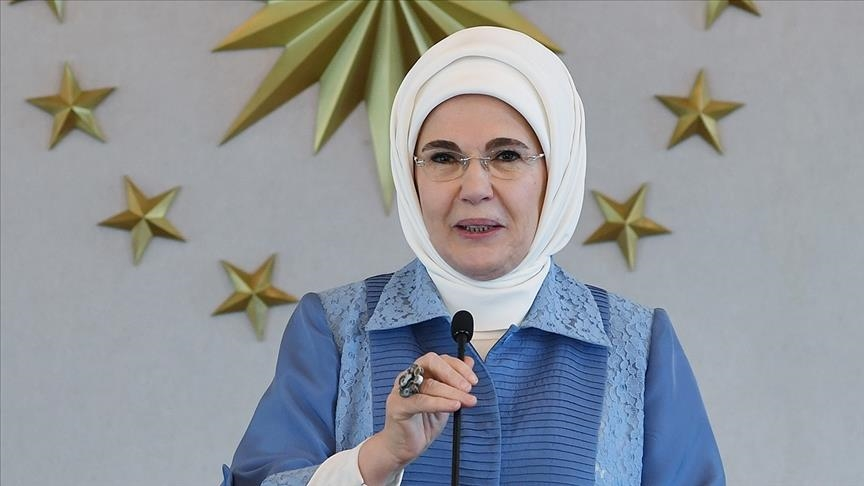 Turkey's first lady: Access to clean water human right