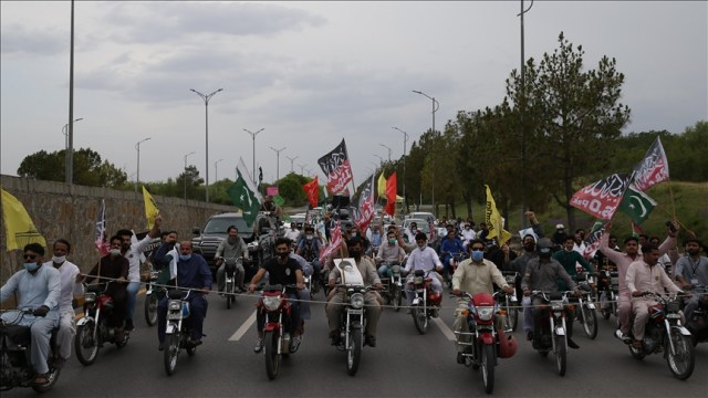 Thousands march across Pakistan against Israel's aggression