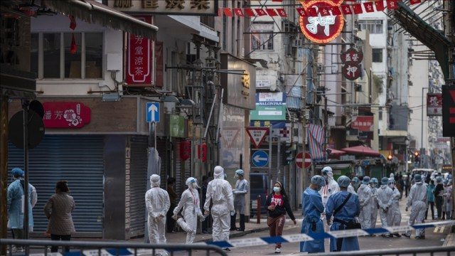 Local infections rise in Chinese border city with virus Delta strain