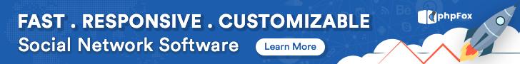 phpFox affiliate banner 728x90
