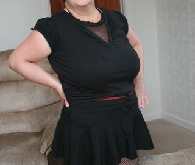 Bbw Granny Peels Black
