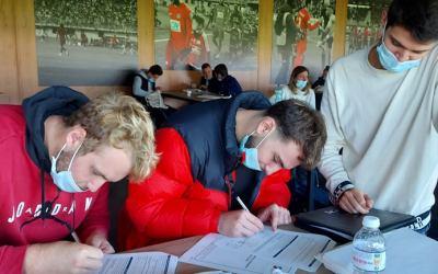 La rentrée des volontaires en service civique en intermédiation au CDOS Loire