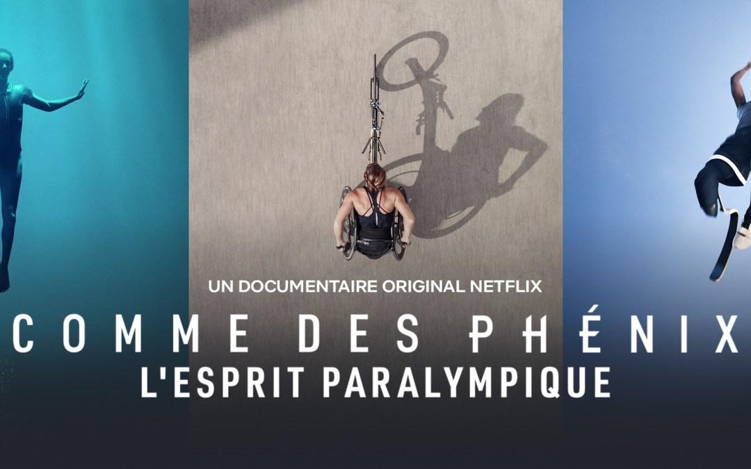 Le documentaire Rising phoenix sur les Jeux Paralympiques