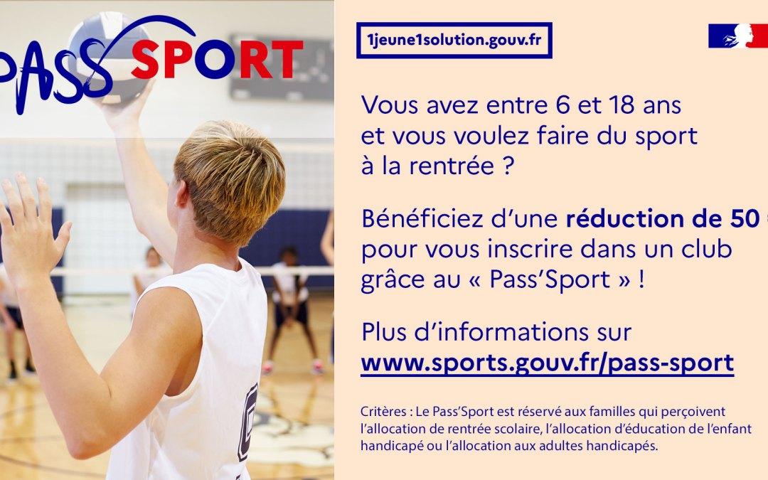 Le dispositif Pass'Sport : une aide pour soutenir le sport amateur !