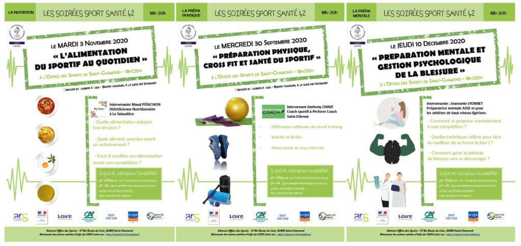 Soirées d'info sport santé : les prochaines dates