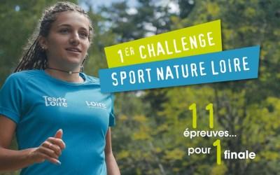 Participez au 1er Challenge Sport Nature Loire !