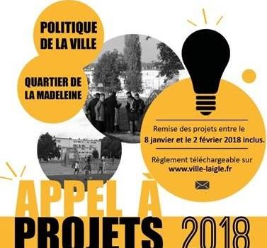 Appel à projets : Politique de la ville de l'Aigle