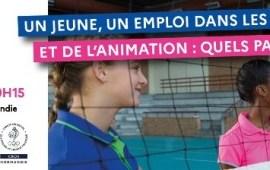 Webinaire «Un Jeune, un emploi dans les métiers du sport»