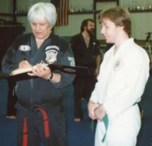 Ed Parker and Doug Hall