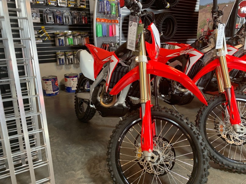 New 2019 Honda Crf450x Motorcycles In