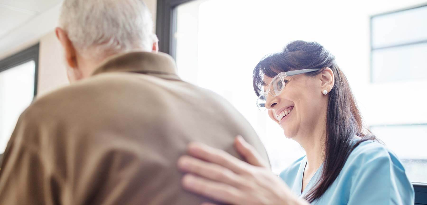 Senior and Caregiver at the CDPAP program in NYC