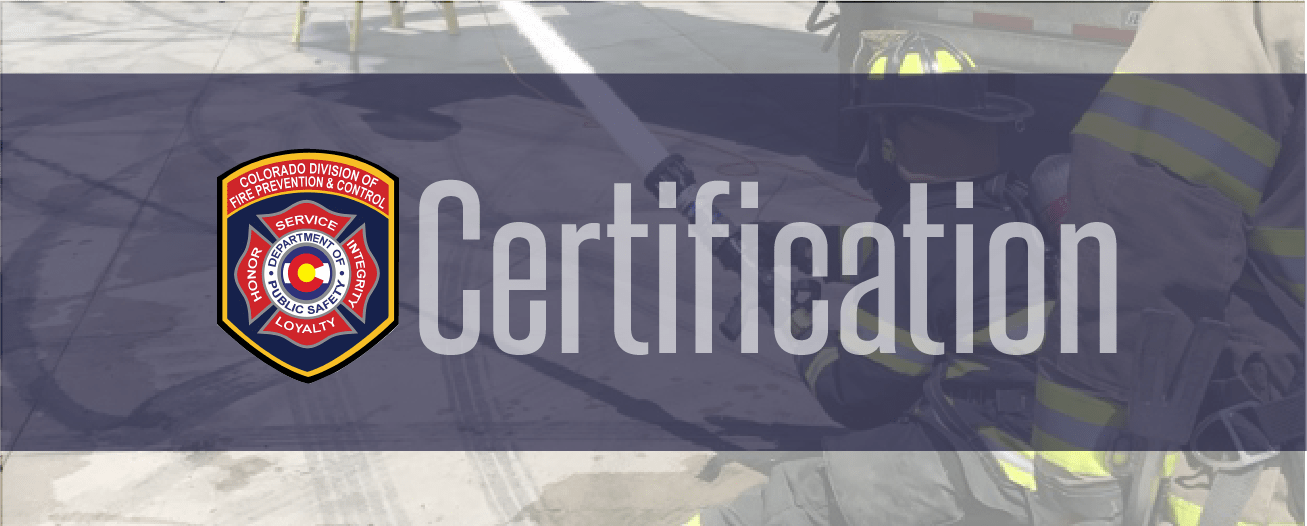 Certification Fire Prevention And Control