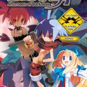 The cover art of the game Disgaea: Afternoon of Darkness.