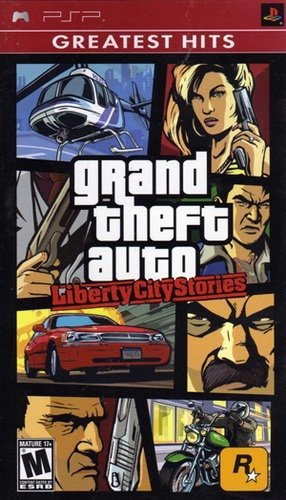 The coverart image of Grand Theft Auto: Liberty City Stories