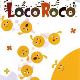 The cover art of the game LocoRoco.