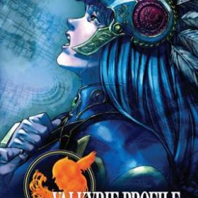 The cover art of the game Valkyrie Profile: Lenneth (Undub).