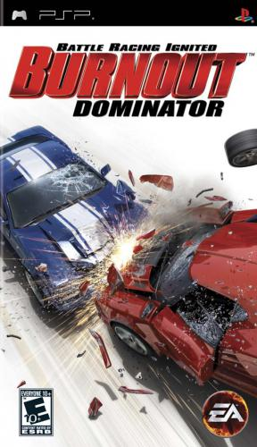 The coverart image of Burnout Dominator