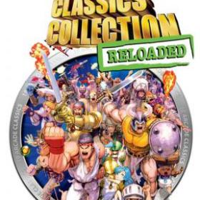 The cover art of the game Capcom Classics Collection Reloaded.