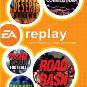 The cover art of the game EA Replay.