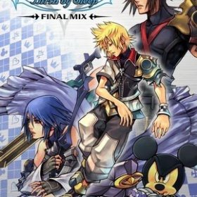 The cover art of the game Kingdom Hearts: Birth by Sleep Final Mix.