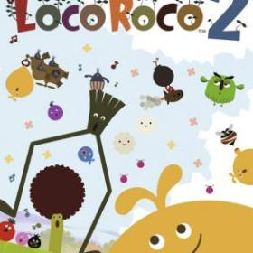 The cover art of the game LocoRoco 2.