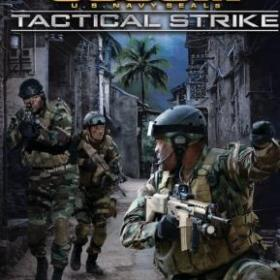 The cover art of the game SOCOM: U.S. Navy SEALs Tactical Strike.