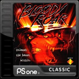 The cover art of the game Bloody Roar.