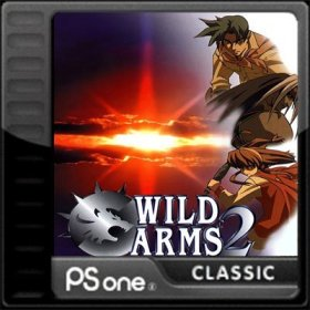 The cover art of the game Wild Arms 2.