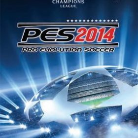 The cover art of the game Pro Evolution Soccer 2014.