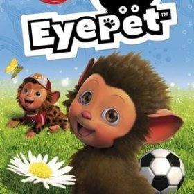 The cover art of the game EyePet.
