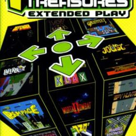 The cover art of the game Midway Arcade Treasures: Extended Play.