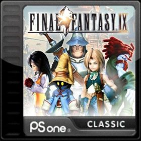 The cover art of the game Final Fantasy IX.