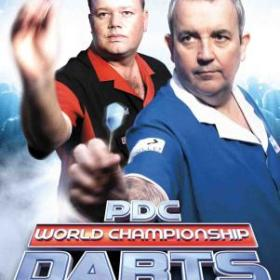 The cover art of the game PDC World Championship Darts 2008.