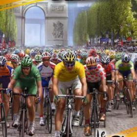 The cover art of the game Pro Cycling Season 2007: Le Tour de France.