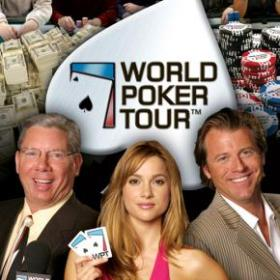 The cover art of the game World Poker Tour.