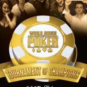 The cover art of the game World Series of Poker: Tournament of Champions - 2007 Edition.