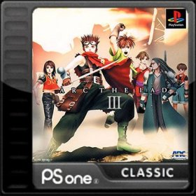 The cover art of the game Arc The Lad III.
