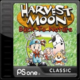 The cover art of the game Harvest Moon: Back to Nature.