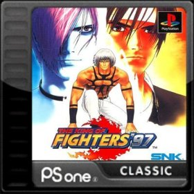 The cover art of the game The King of Fighters '97.