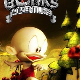 The cover art of the game Bonk's Adventure.