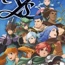 The cover art of the game Ys Seven.