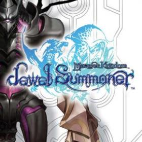 The cover art of the game Monster Kingdom: Jewel Summoner.