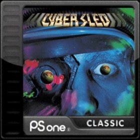 The cover art of the game Cyber Sled.