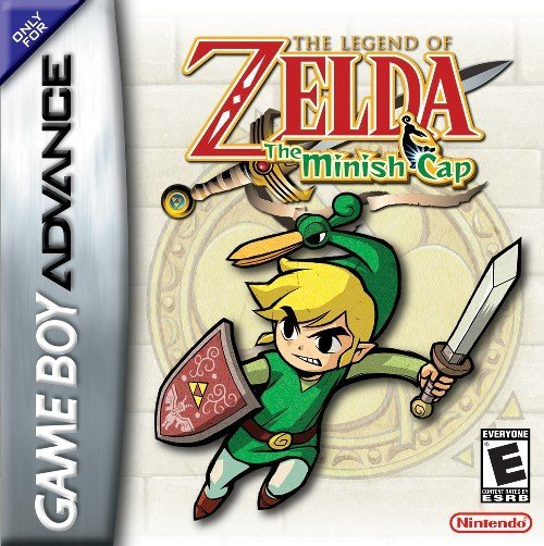 The coverart image of The Legend of Zelda: The Minish Cap