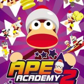 The cover art of the game Ape Academy 2.