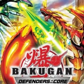 The cover art of the game Bakugan Battle Brawlers: Defenders of the Core.