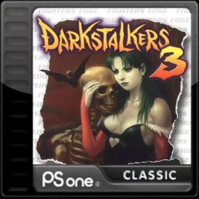 The cover art of the game Darkstalkers 3.