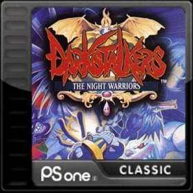 The cover art of the game Darkstalkers: The Night Warriors.