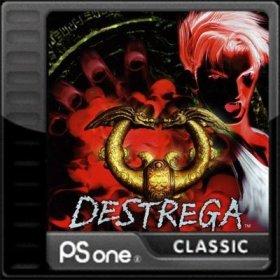 The cover art of the game Destrega.